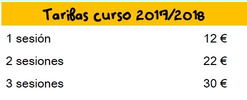 Precios pequeteca 2017-2018