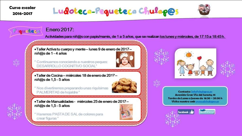 Pequeteca Enero 2017