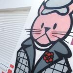 Fachada exterior gato