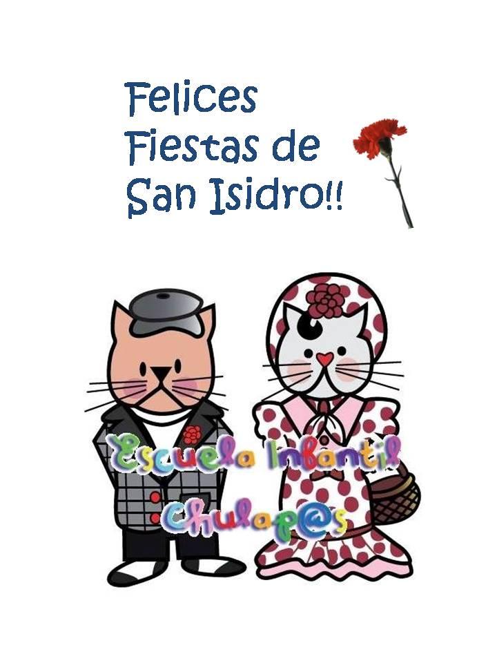 Felices Fiestas de San Isidro!!