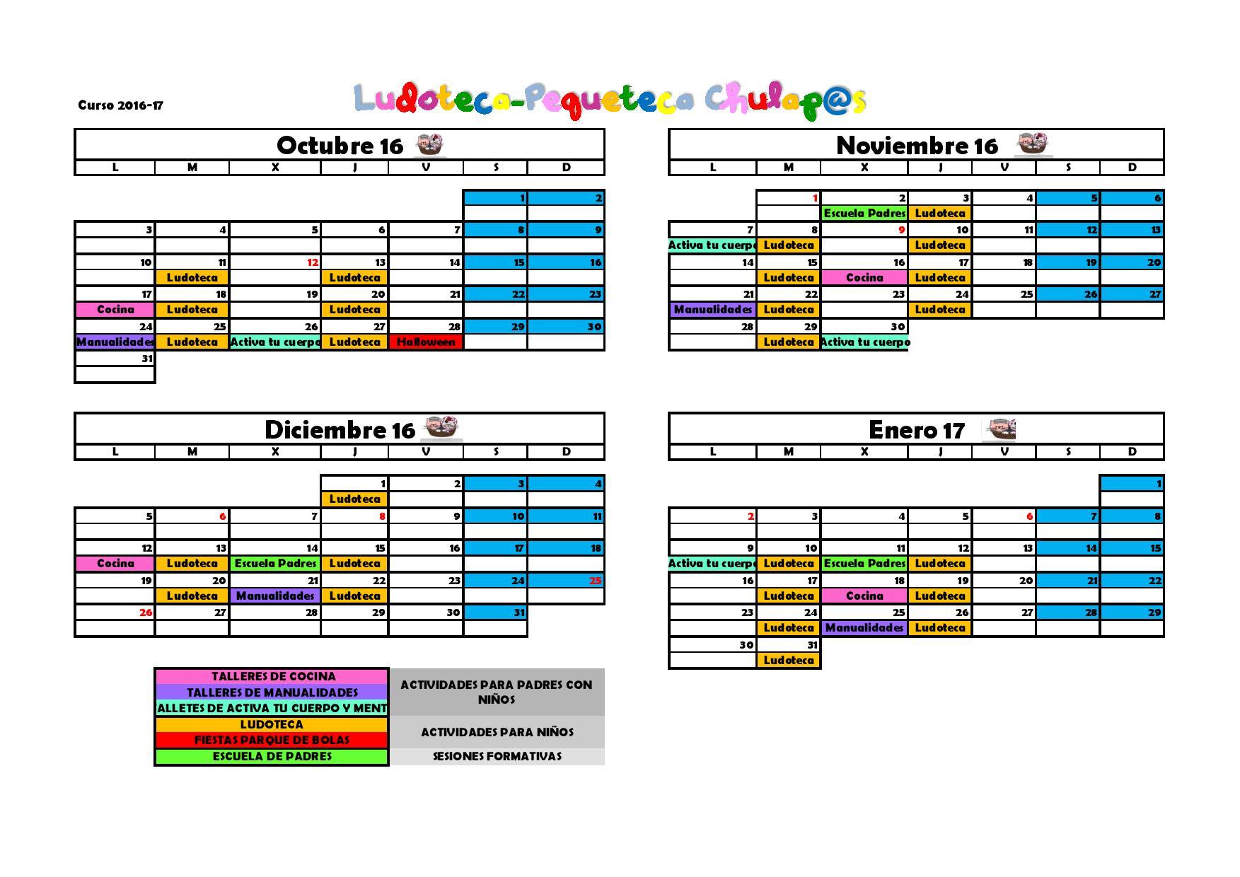 calendario-actividades-octubre-16-enero-17