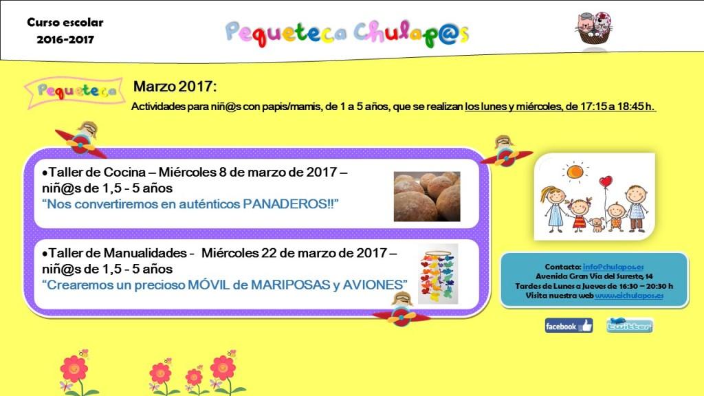 Pequeteca Marzo 2017