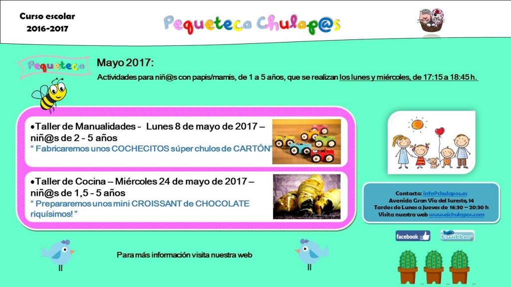 Pequeteca Mayo 2017
