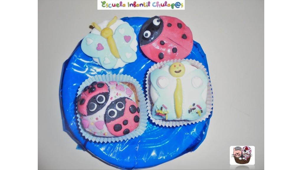 Taller cupcakes de primavera