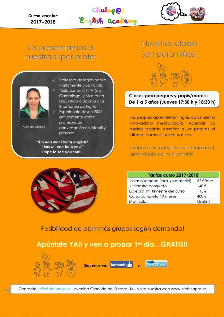 English Academy Chulapos- INFO curso 2017-18 --page-001