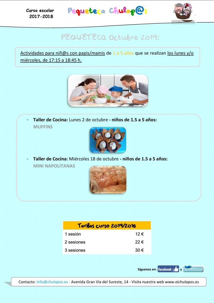 Info Pequeteca Octubre 2017