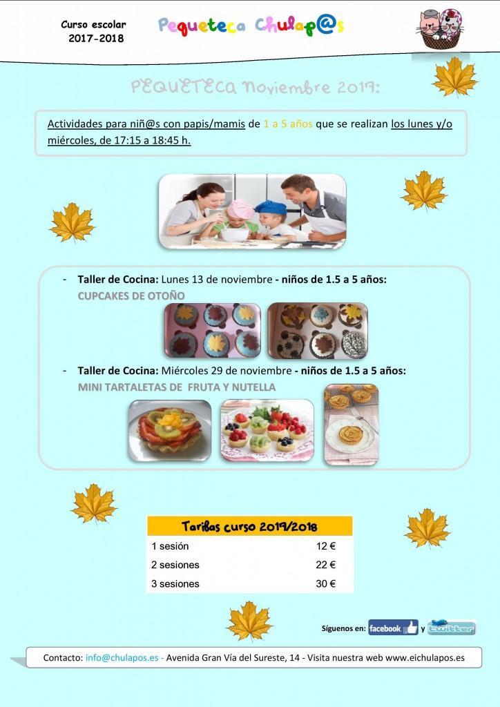 Info Pequeteca Noviembre 2017