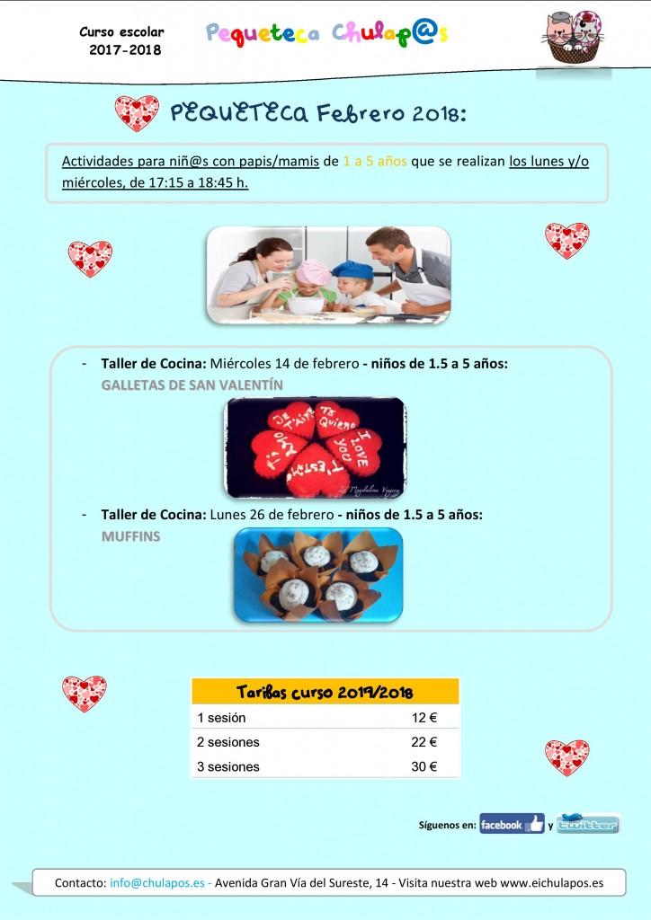 Info Pequeteca Febrero 2018