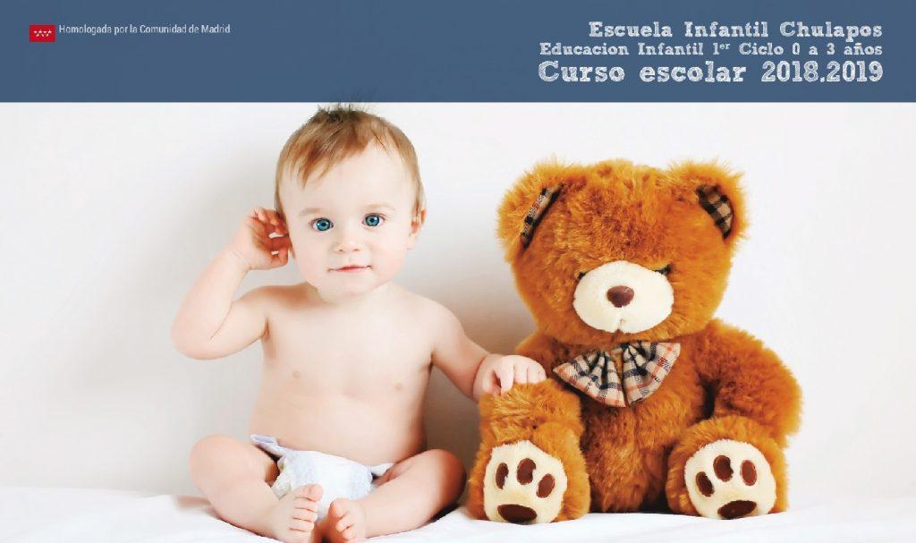 Escuela Infantil Chulapos- INFO curso escolar 2018-2019