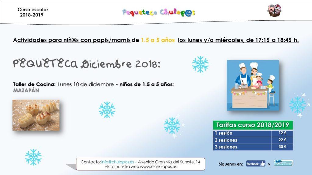 Info Pequeteca EI Chulapos 2018-2019 - diciembre 2018