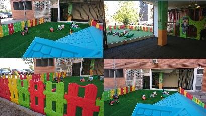 Zona exterior escuela infantil chulapos home