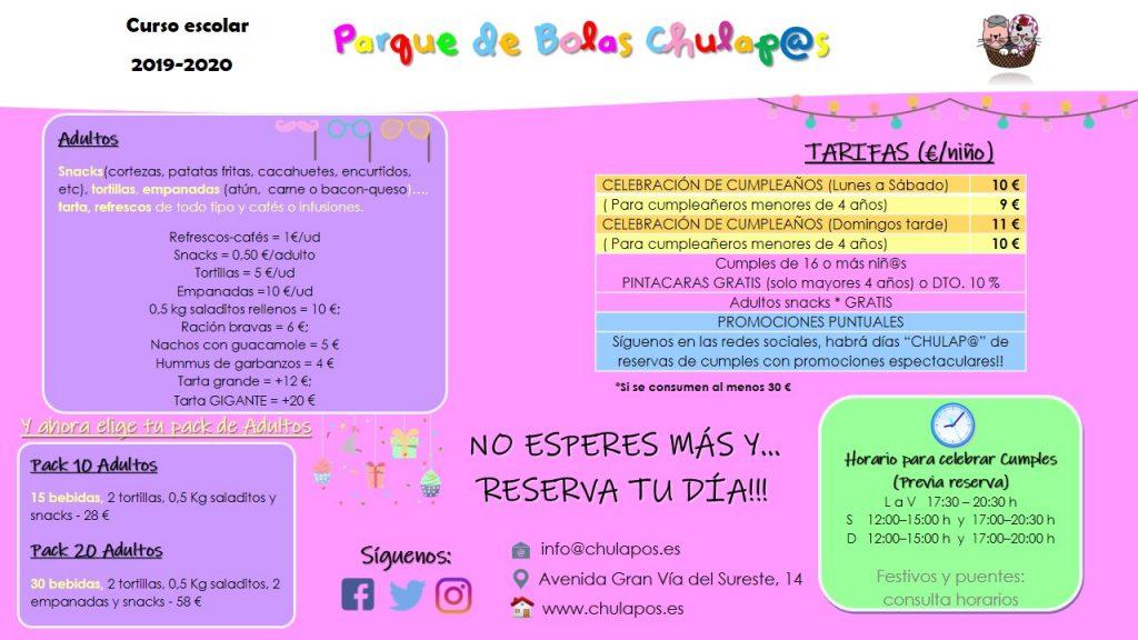 Info Parque de Bolas Chulapos Hoja informativa 2019 2020 (2)