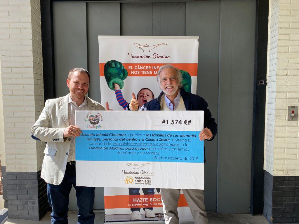 Entrega donativo Aladina 2019